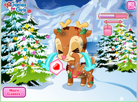 Pet Stars Cute Reindeer
