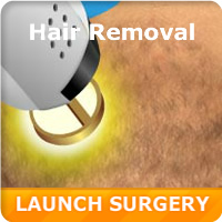 Virtual Laser Hair Removal